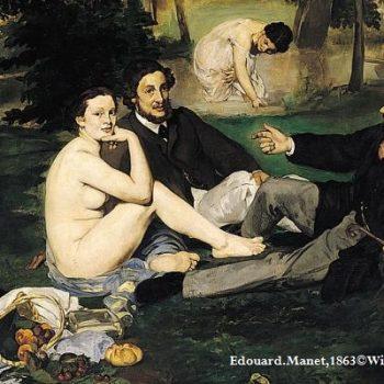 nu-art-manet-français