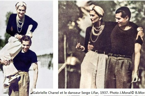 "Coco Chanel en mode ""Gaçonne"""